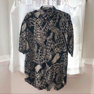 Fashion Report short sleeve button down shirt